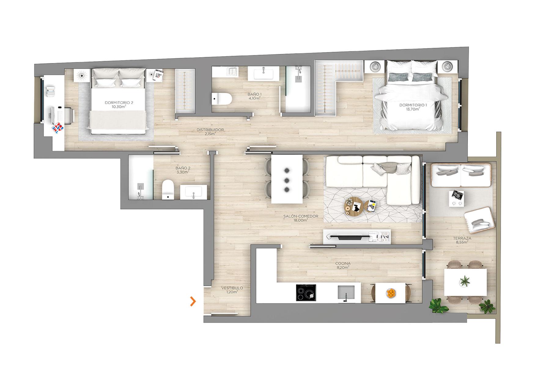 Arrosadia-construcciones-andia_AF_PLANO-PLANTA-1AL6A-1