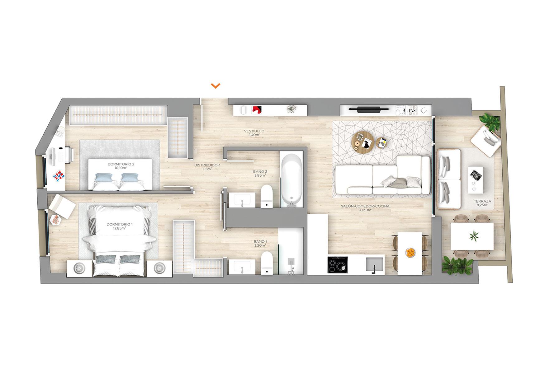 Arrosadia-construcciones-andia_AF_PLANO-PLANTA-1AL6C-1