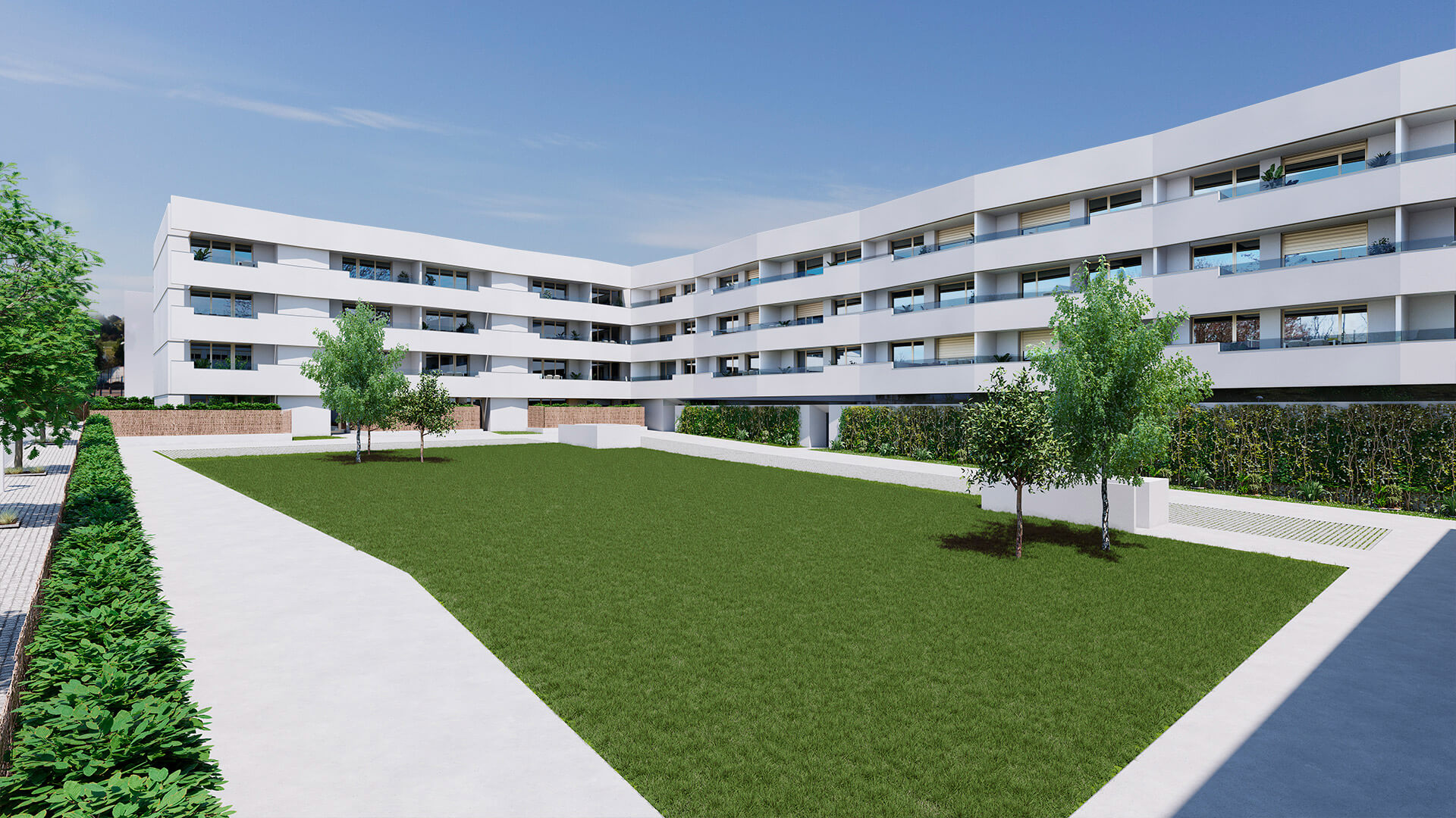 Jardines Ardoi - Construcciones Andía